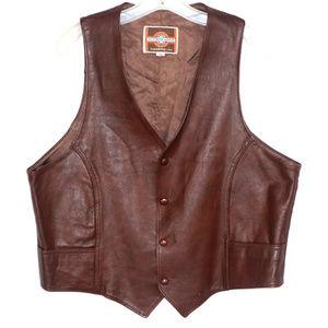 Like new Pioneer Wear leather vest USA 46